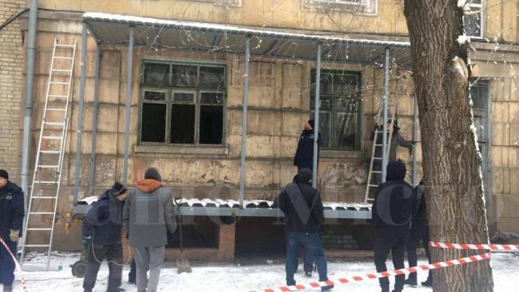 З історичної будівлі Дніпра демонтували…