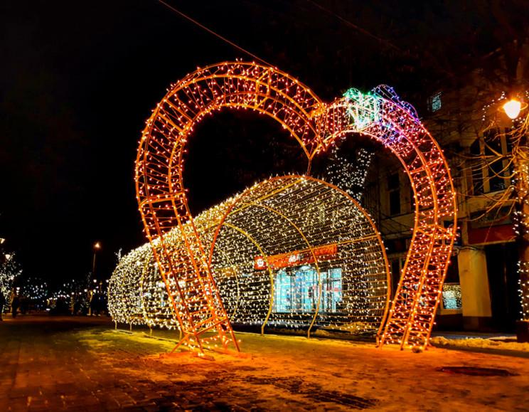 У Хмельницькому засвітили тунель кохання…