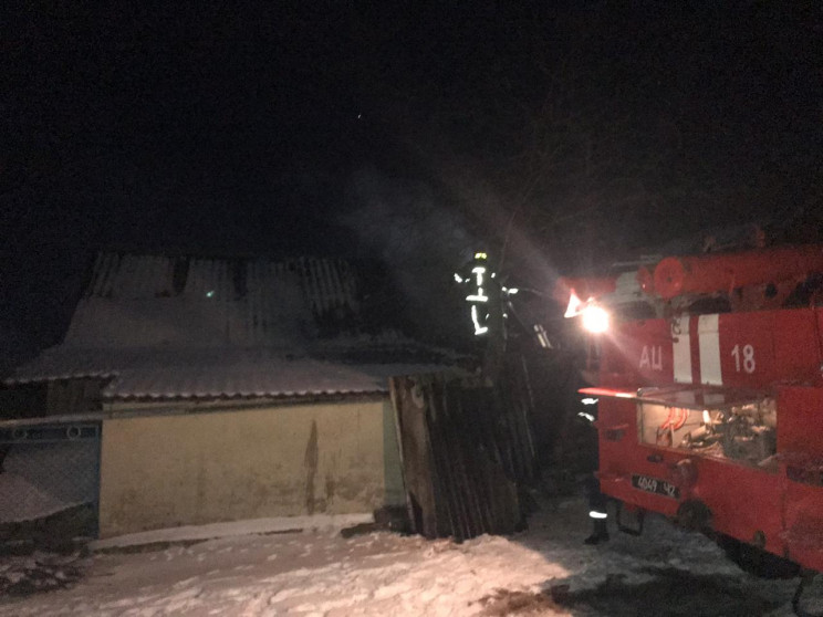 Мізоцькі рятувальники ліквідували пожежу…