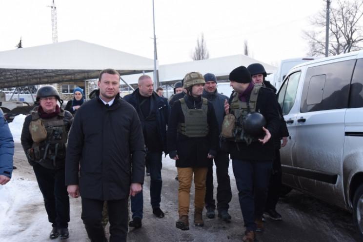 Очільник МЗС Данії відвідав Донбас…
