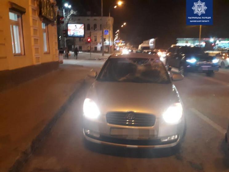 У Харкові водій Hyundai збив чоловіка…