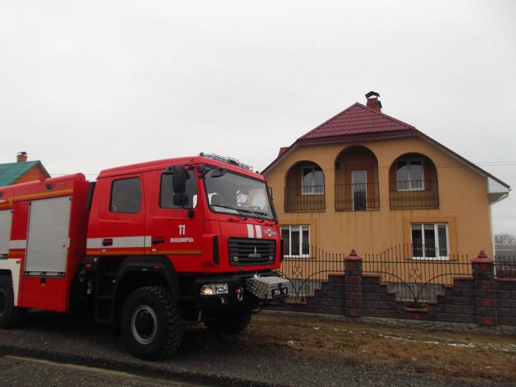У Володимирці горів будинок (ФОТО)…