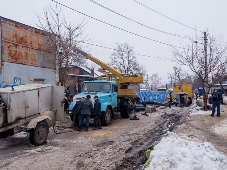 В трех районах Харькова возникли проблем…