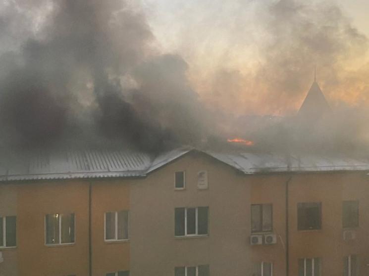 В Харькове произошел масштабный пожар в…