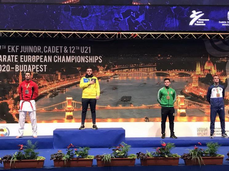 Одесский спортсмен стал чемпионом Европы…