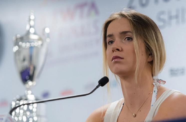 Украинская теннисистка Свитолина сделала…