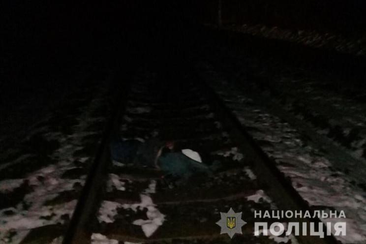 Потяг смертельно травмував невідомого чо…