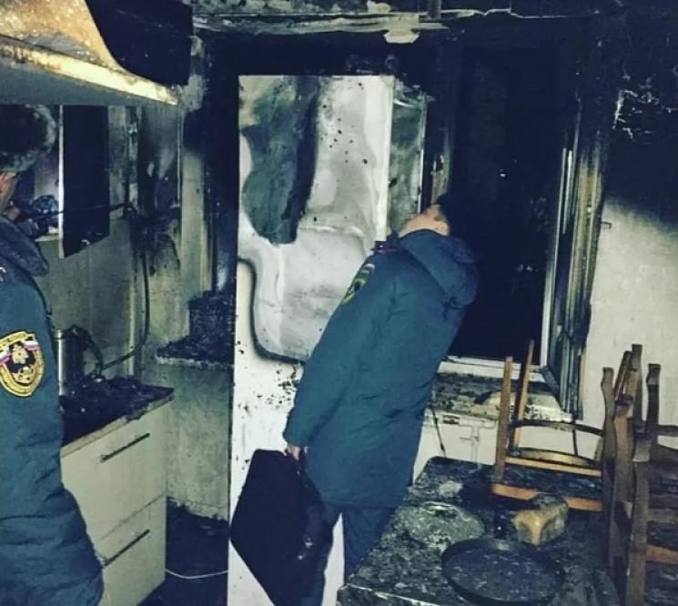 У Армавірі загорілася багатоповерхівка…