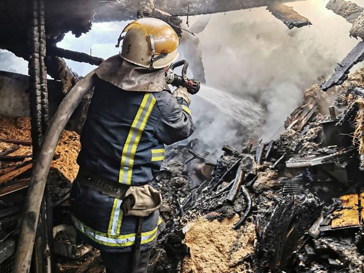У Миколаєві вогнеборці рятували житлові…
