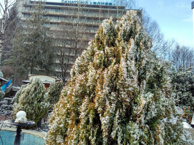 Як Трускавець засипає снігом (ФОТО, ВІДЕ…