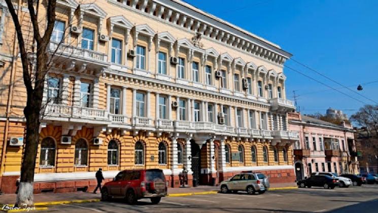 Штаб-квартиру одесской полиции отреставр…