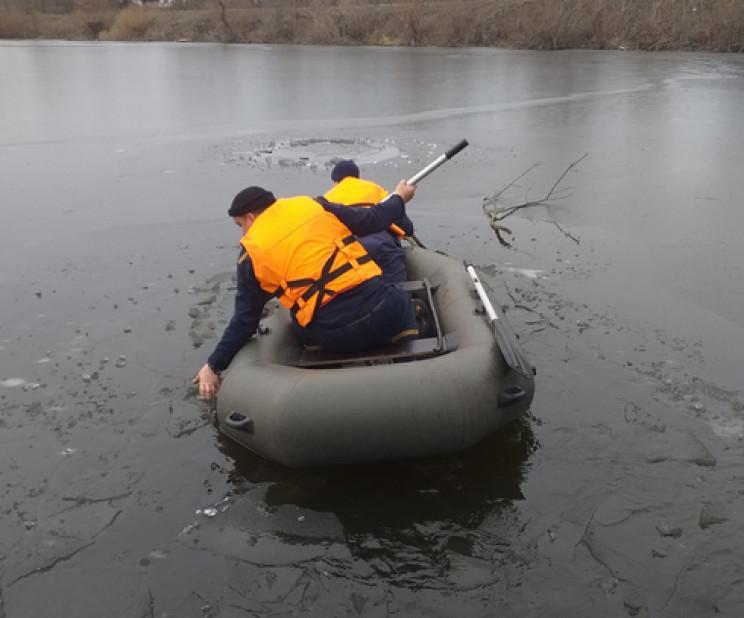 На Кропивниччині у водоймі знайшли потоп…