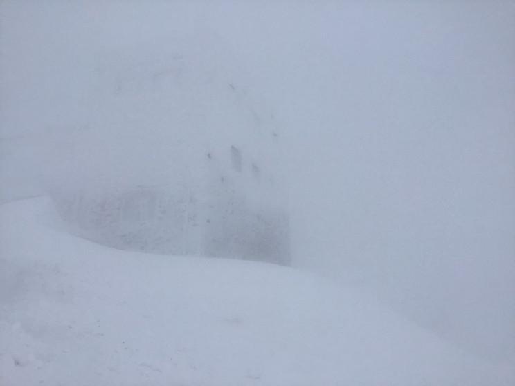 На горі Піп Іван видимість до 20 м…