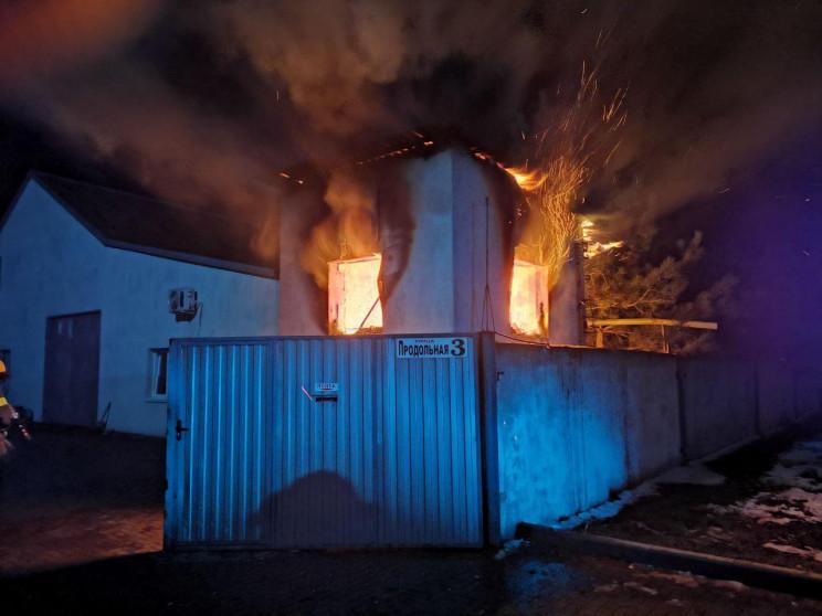 На Запоріжжі під час пожежі на автопідпр…