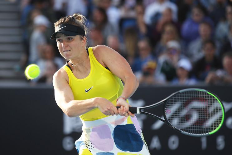 Как украинская теннисистка Свитолина фее…