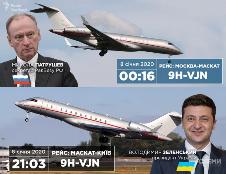 Зеленського в Київ привіз той самий літа…