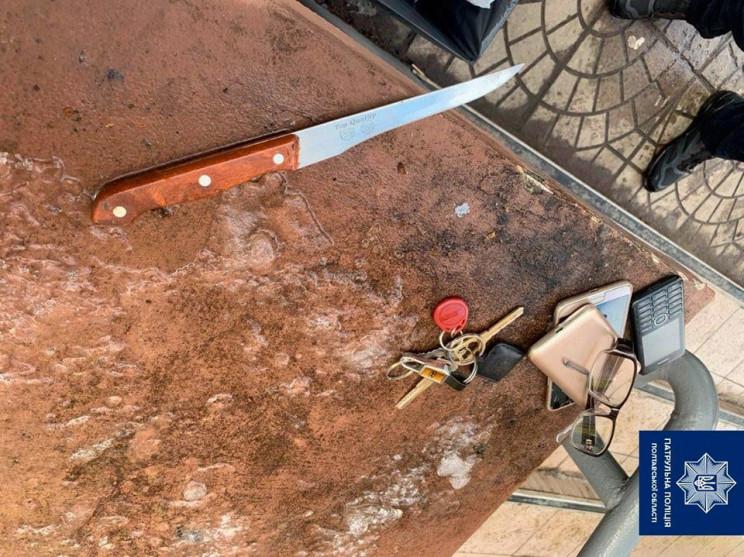 Кривава сварка у Полтаві: Чоловік поріза…