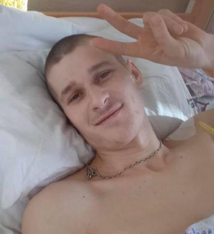 Важкопоранений боєць з Дніпропетровщини…