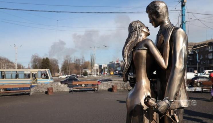 В центре Каменского установили памятник…