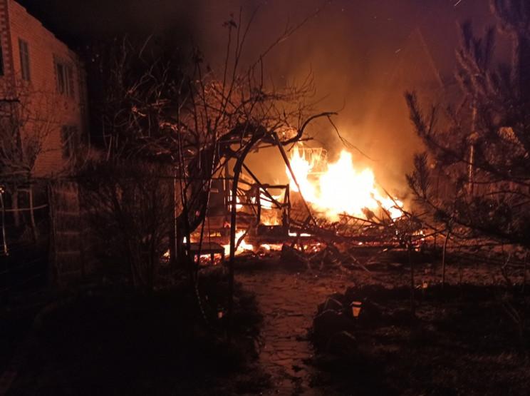 У Херсоні вщент згоріла лазня…