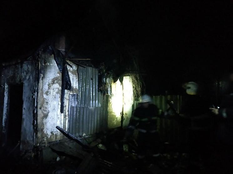 На Днепропетровщине в летней кухне сгоре…
