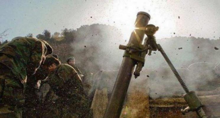 Бойовики на Донбасі гатять із заборонено…