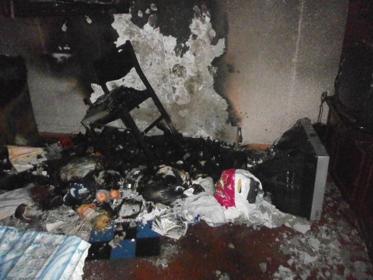 У Горішніх Плавнях вигоріла квартира в б…