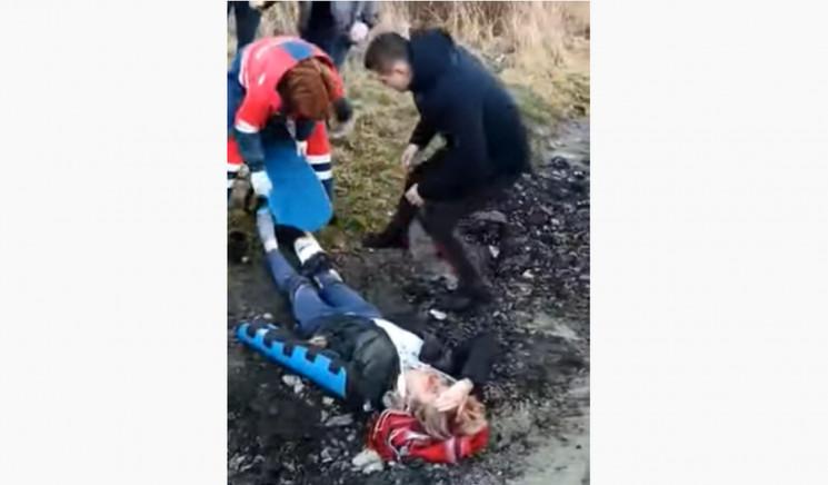 Біля Городка водій травмував двох місцев…