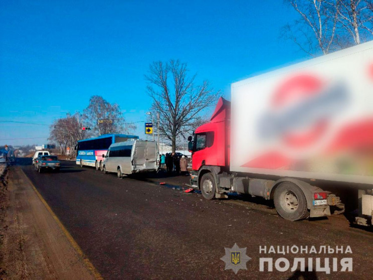 У Полтаві зіткнулися два пасажирські авт…