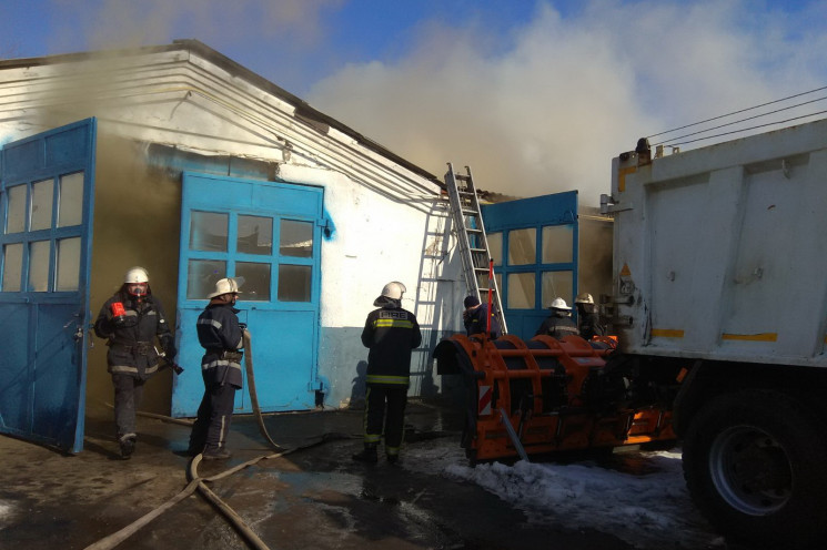 В Харькове произошел пожар на коммунальн…