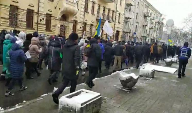В центре столицы усилены меры безопаснос…