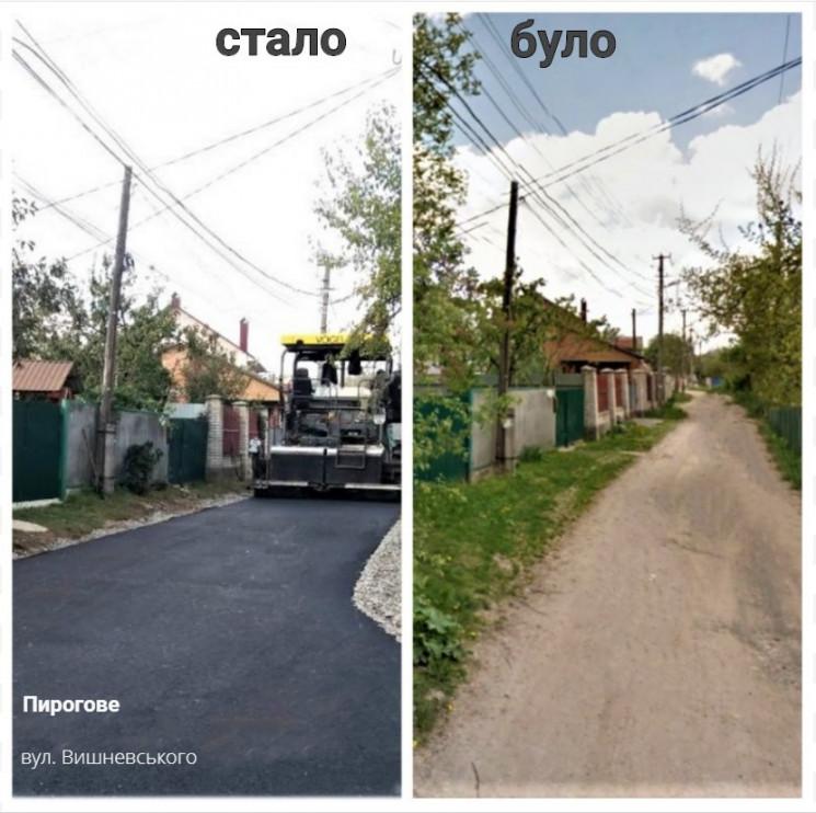 Два десятки вулиць у приватному секторі…