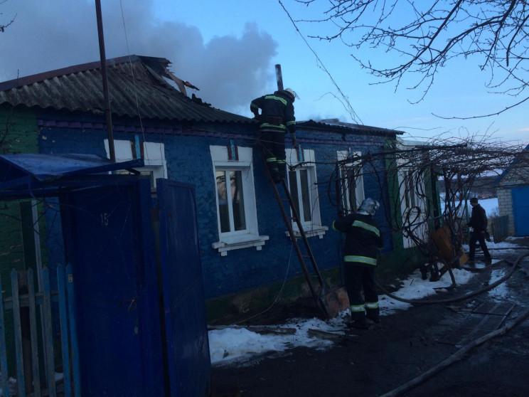 На Харківщині вогонь знищив приватний бу…
