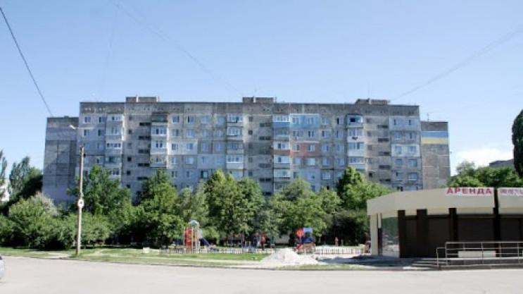 В спальном районе Кропивницкого отремонт…
