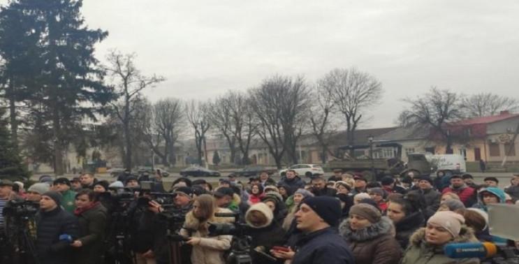 На Тернопільщині люди масово протестують…
