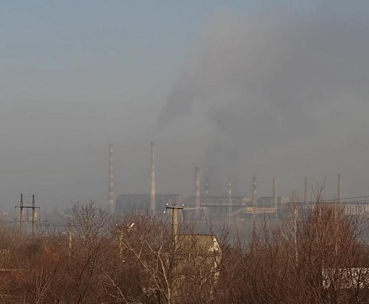 В Днепре электростанция задымила черным…