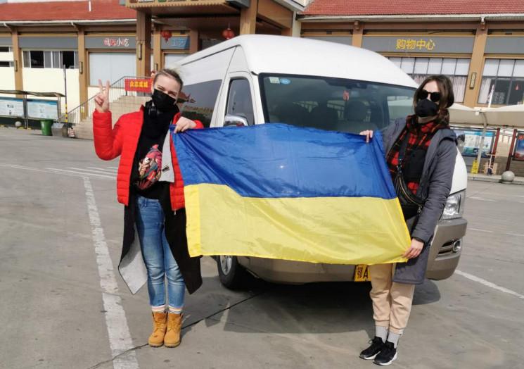 Как украинцев эвакуируют из Китая (ФОТОР…