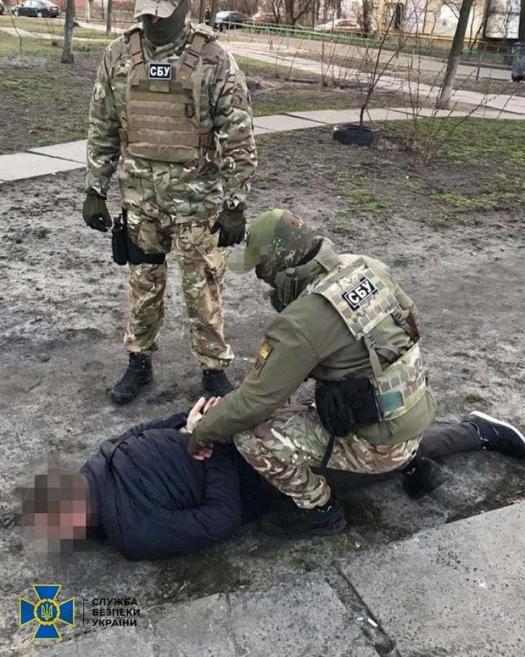 """У Києві затримали агента """"МДБ ЛНР"""", який…"""