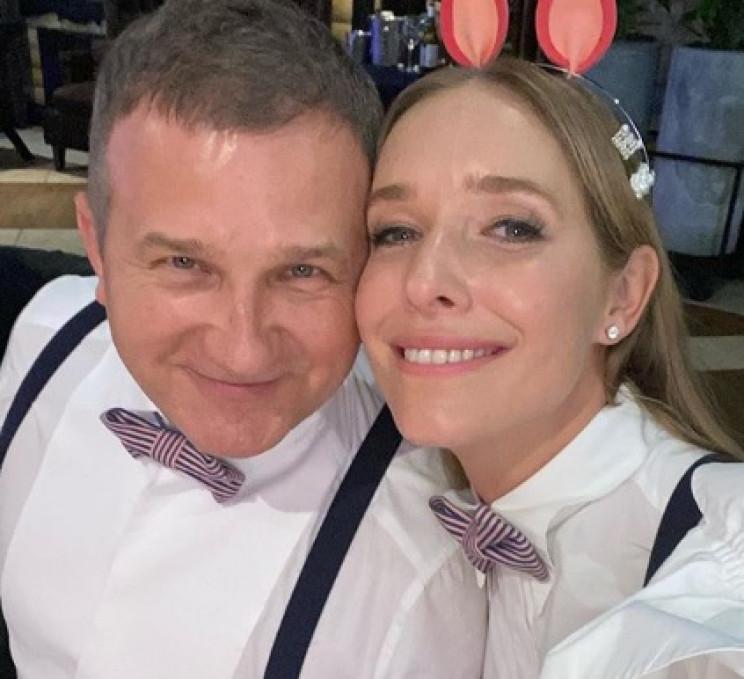 Катя Осадча і Юрій Горбунов відсвяткувал…