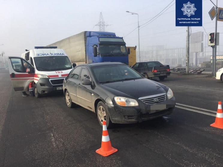 На Алексеевке водитель легковушки сбил ж…