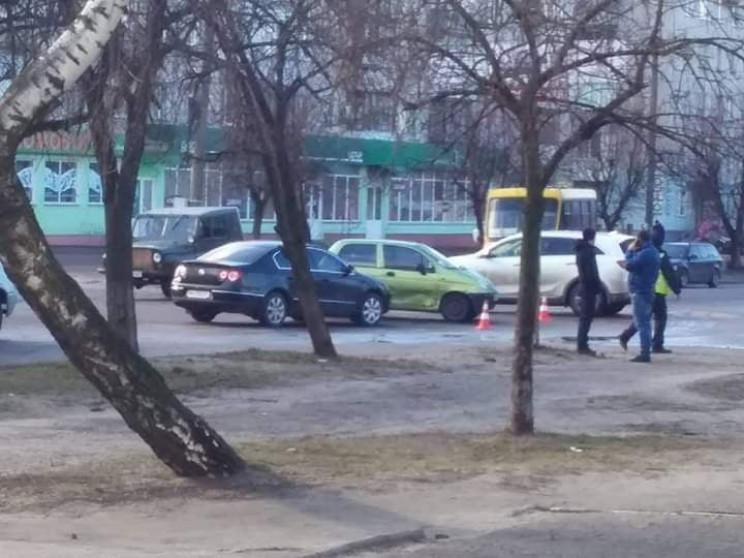 У Шостці на Чернігівській не розминулись…