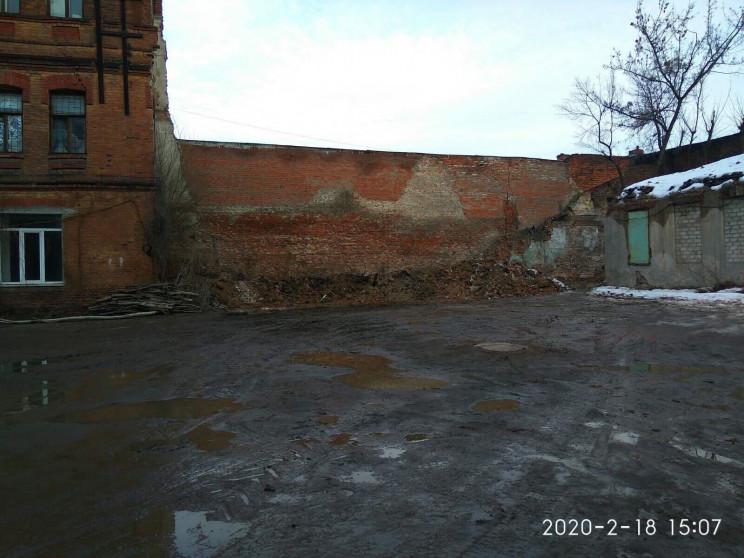 В центральном районе Харькова убрали сти…