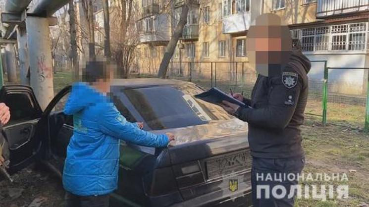 В Одессе 12-летний мальчик угнал легкову…