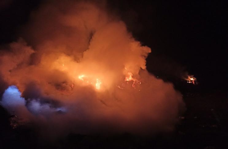 На Кропивнитчине в поселке горел магазин…