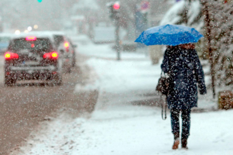 На Днепропетровщину возвращается зима…