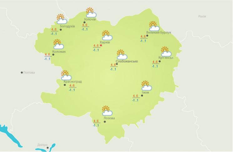 На Харьковщине ночной снег сменится днев…