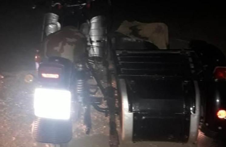 На Одещині загинув пасажир мотоцикла…