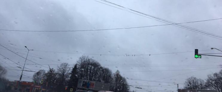 У Львові на важливому перехресті вітер н…