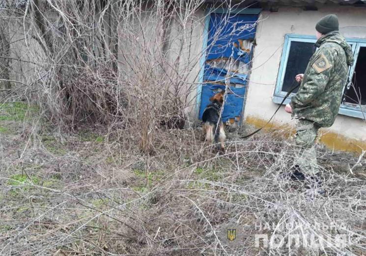 На Дніпропетровщині поліцейські із собак…