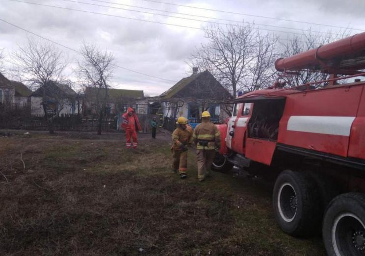 На Запоріжжі у пожежі постраждали жінка…